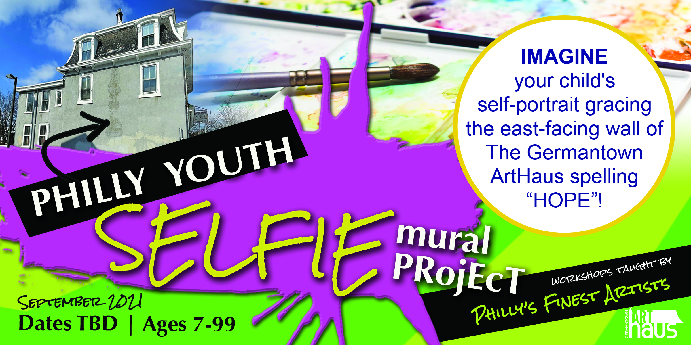 Philly Youth Selfie Project Promo Graphic