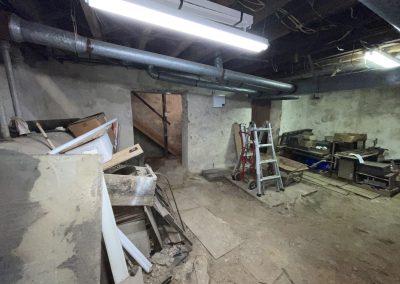 Basement Pre-Renovation