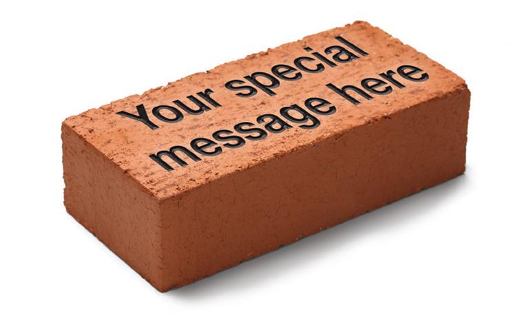 Sponsor a Brick Campaign Imge