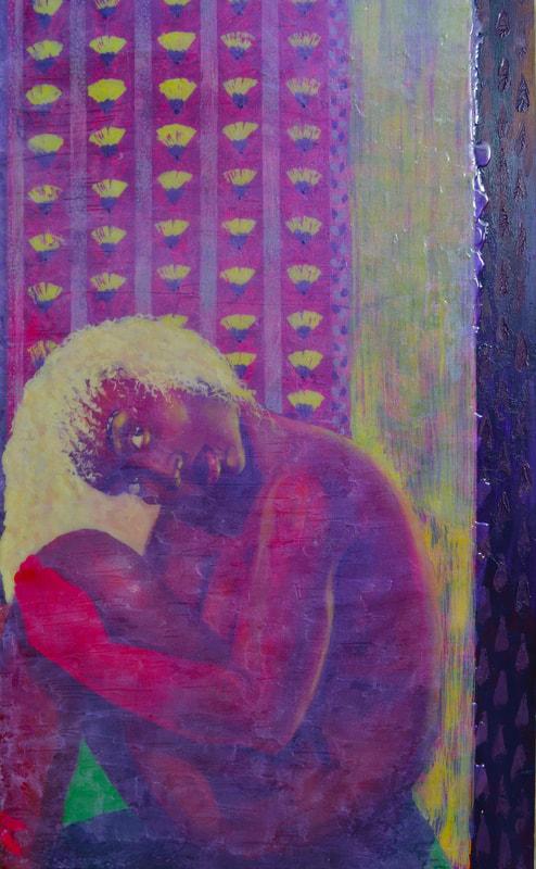 VIBRANT ARTWORK OF AMEY MANTEL